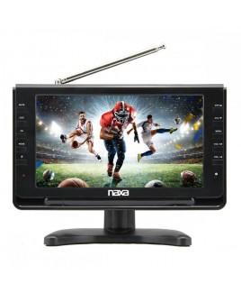 "Naxa 10"" Portable TV & Digital Multimedia Player with Car Package"