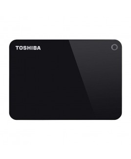 Toshiba 1TB Canvio Advance USB 3.0 Portable Hard Drive, Black