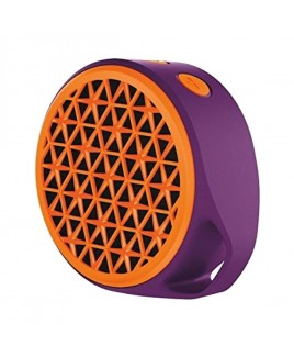 Logitech X50 Small and Portable Mobile Wireless Speaker, Orange/Purple