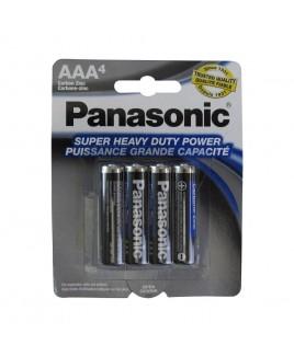 Panasonic Super Heavy Duty Power AAA 4-Pack